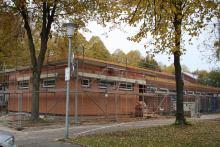 Sporthalle Cappel Anbau Umkleiden